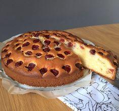 Gâteau aux Cerises et au Mascarpone