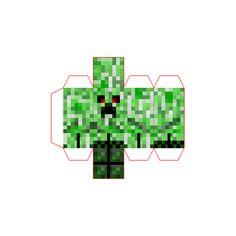 Papercraft Mini Revenge Creeper (Transitional Eyes)