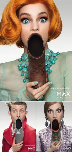 Campagne pubblicitarie creative #Advertising Creative Advertising, Shoe Advertising, Ads Creative, Fashion Advertising, Creative Posters, Advertising Campaign, Advertising Design, Advertising Ideas, Creative Ideas