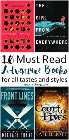 These all look good and I love how diverse a selection of adventure books this is. Something for every mood and reader. Book Nerd, Book Club Books, Book Series, My Books, Best Adventure Books, Adventure Novels, Reading Lists, Book Lists, Happy Reading