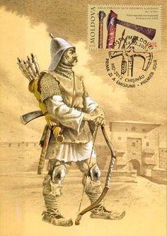 Moldova, Knights Templar, Ottoman Empire, 17th Century, Romania, Renaissance, Medieval, Battle, Stamp