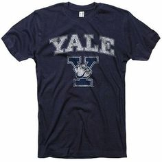 Yale University T-Shirt Vintage Bulldogs Tee, M