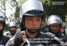 National Police, Female Cop, Community, Live, Colombia, Exercises, People