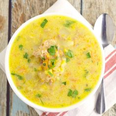 Cheddar Ham Chowder combines classic ham and cheese into a warm, creamy soup that will warm you up on a chilly day.