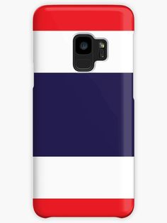 Flag Of Thailand. • Millions of unique designs by independent artists. Find your thing. Thailand Flag, Buy Flags, Skin Case, Long Hoodie, Ipad Case, Laptop Sleeves, Protective Cases, Decorative Throw Pillows, Classic T Shirts