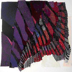 Construction of Lydia - fractal art quilt, step 10