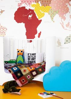 "Watotodesign Blog: Nursery decor: Travel the ""World"""