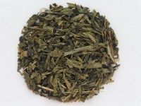 Decaf Green Tea:Good green tea flavor with longish sencha leaf style. All the goodness of green tea without the caffeine.