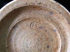 Studio Pottery Vase by Bernard.H.Charles c1970s - CB mark BC mark