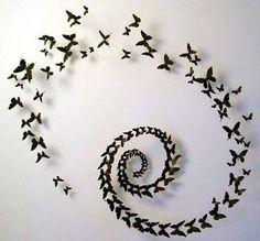 Farfalle a cerchio