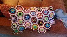 African flower crochet haken