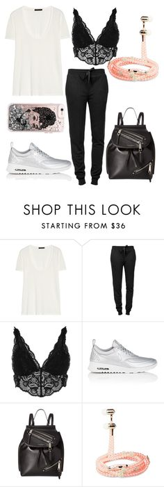 """Sin título #4191"" by onedirection-h1n1l2z1 on Polyvore featuring The Row, T By Alexander Wang, River Island, NIKE, Marc Jacobs, Sony, men's fashion y menswear"
