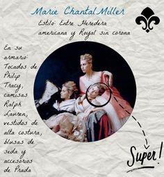 Marie Chantal Miller at El blog de Malules