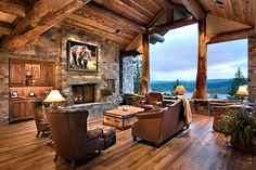 Portfolio - Classic Design Group Rustic Lodge Architecture