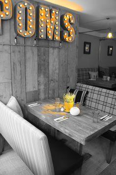 Pom's Kitchen & Deli - Sacha Interiors