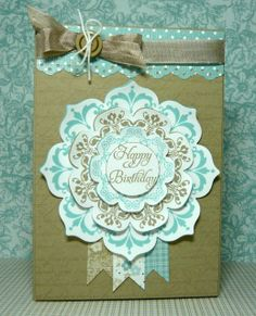 daydream medallions stampin up ideas | daydream medallions, floral framelits