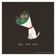 Get well soon By ILoveDoodle
