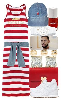 """6-18-15 drake is bae !"" by no-flex-zone ❤ liked on Polyvore featuring Maison Margiela, Valentino, New Balance, Casio, Marc by Marc Jacobs, Case-Mate and River Island"