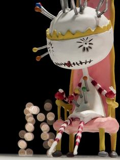 Tim Burton's Tragic Toys Pincushion Queen