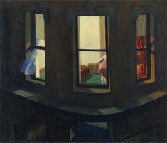 Edward Hopper. Night Windows. 1928