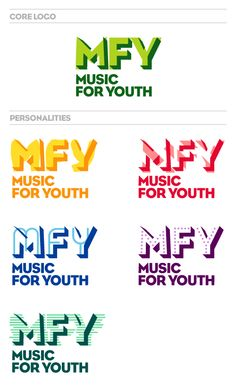 Music for Youth Identity, Research Studios | Neville Brody
