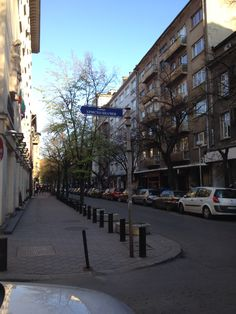 Streets of Sofia, Bulgaria www.eatstaylovebulgaria.com