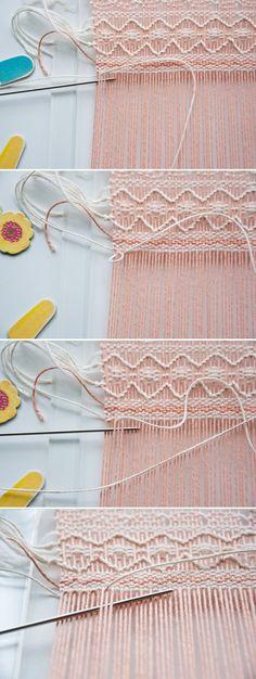 Weave Along || Part 6: Exploring the Soumak Technique