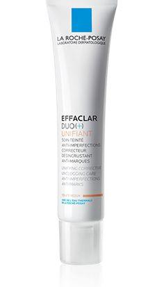 Tout savoir sur EFFACLAR DUO(+) Unifiant, un produit de la gamme Effaclar de La Roche-Posay recommandé pour Peaux grasses, à imperfections. Conseils d'experts gratuits