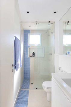 Small Shower Room, Small Bathroom Layout, Very Small Bathroom, Tiny Bathrooms, Modern Bathroom Design, Bathroom Interior Design, Bad Inspiration, Bathroom Inspiration, Bathroom Floor Plans