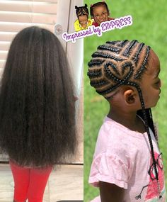 The 11 Cutest Box Braids for Kids in 2019 - Style My Hairs Lil Girl Hairstyles, Cute Hairstyles For Kids, Girls Natural Hairstyles, Kids Braided Hairstyles, Box Braids Hairstyles, Toddler Hairstyles, Little Girl Braid Styles, Kid Braid Styles, Little Girl Braids