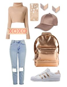 Rose gold summer look Summer Looks, Rose Gold, Polyvore, Image, Beauty, Style, Fashion, Swag, Moda