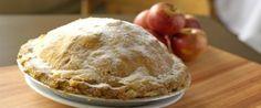 Copie a Legítima Torta de Maçã americana - Receitas Supreme I Chef, Sugar Pie, Sweet Pie, Strudel, Caramel Apples, Just Desserts, I Foods, Apple Pie, Italian Recipes