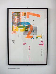 """alliesaurus:  """" awesome letterpress poster/art print  """""""