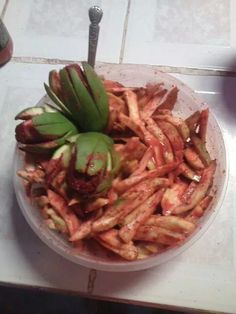 Mangos con chile