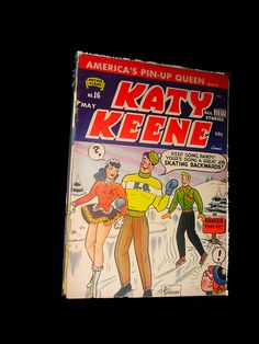 Katy Keene Comic Cover by Pennelainer, via Flickr