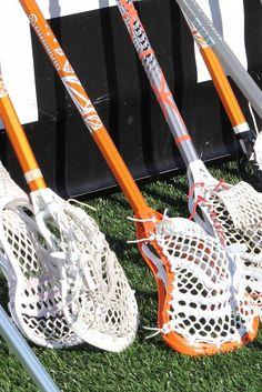 orange college lacrosse sticks - Google Search