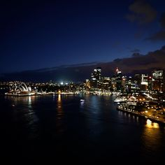 15 of 365 Project | Week 3: Cityscapes | Sydney bathed in blue hour. I had the chance to go on a night photo safari with some photography class alumni - location Sydney Harbour bridge #bluehour #cityscape #skyline #sydney #circularquay #sydneyharbourbridge #sydneyoperahouse #water #boats #ferries #lights #ultrawideangle #clouds #canon #canon760d #newsouthwales #australia #urbanjungle #mjw760d #365project #mcaruso753 by mjw760d http://ift.tt/1NRMbNv