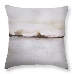 Glow Of The Lake Throw Pillow for Sale by Vesna Antic