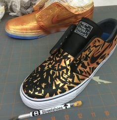 How To Paint Custom Sneakers with Jacquard Products