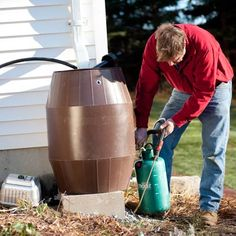 How to make compost tea.