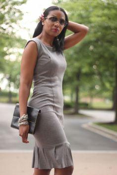 Beaute' J'adore: DIY Ruffle Dress