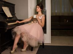 Golden sequins at R'Urban Poem, Take That, Ballet Skirt, Sequins, Urban, Formal, Skirts, Style, Fashion