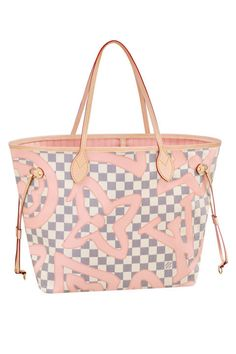 Throw all your summer essentials into this patterned tote bag from Louis Vuitton.