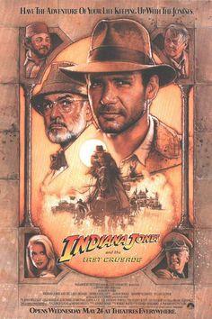 Indiana Jones (The Last Crusade)  Poster 9/10  Film10/10