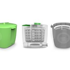 The LaundryPOD - a portable, enviormentally friendly washer