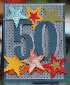Male 50th Birthday by kathyc22 - Cards and Paper Crafts at Splitcoaststampers