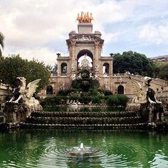 Parc de la Ciutadella - Barcelona, Spain. Been here and it's so pretty