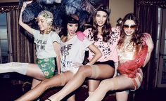 Wildfox Couture . Daisy Girls . Can Can . Dancing