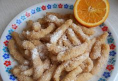 Krumplis nudli Onion Rings, Cake Recipes, Waffles, Dishes, Cookies, Chicken, Breakfast, Ethnic Recipes, Food