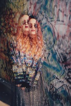 tancamera:    Multiple Exposure on 35MM Film  Model: Luanna Perez-Garreaud  Styling & Photography by Kimi Selfridge